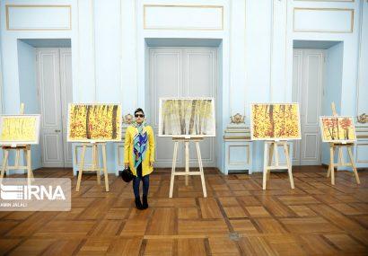 ششمین نمایشگاه نقاشی مریم حیدرزاده