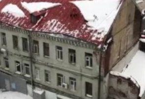 مرگ دو نفر در برف امروز رشت