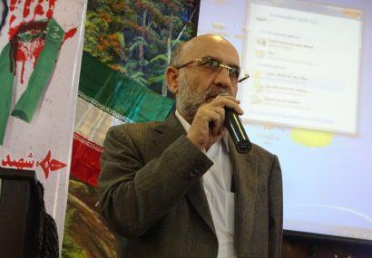 یاد واره لاله های روشن با حضور پدر شهید مدافع حرم زنده یاد شهید بابک نوری هریس برگزار شد
