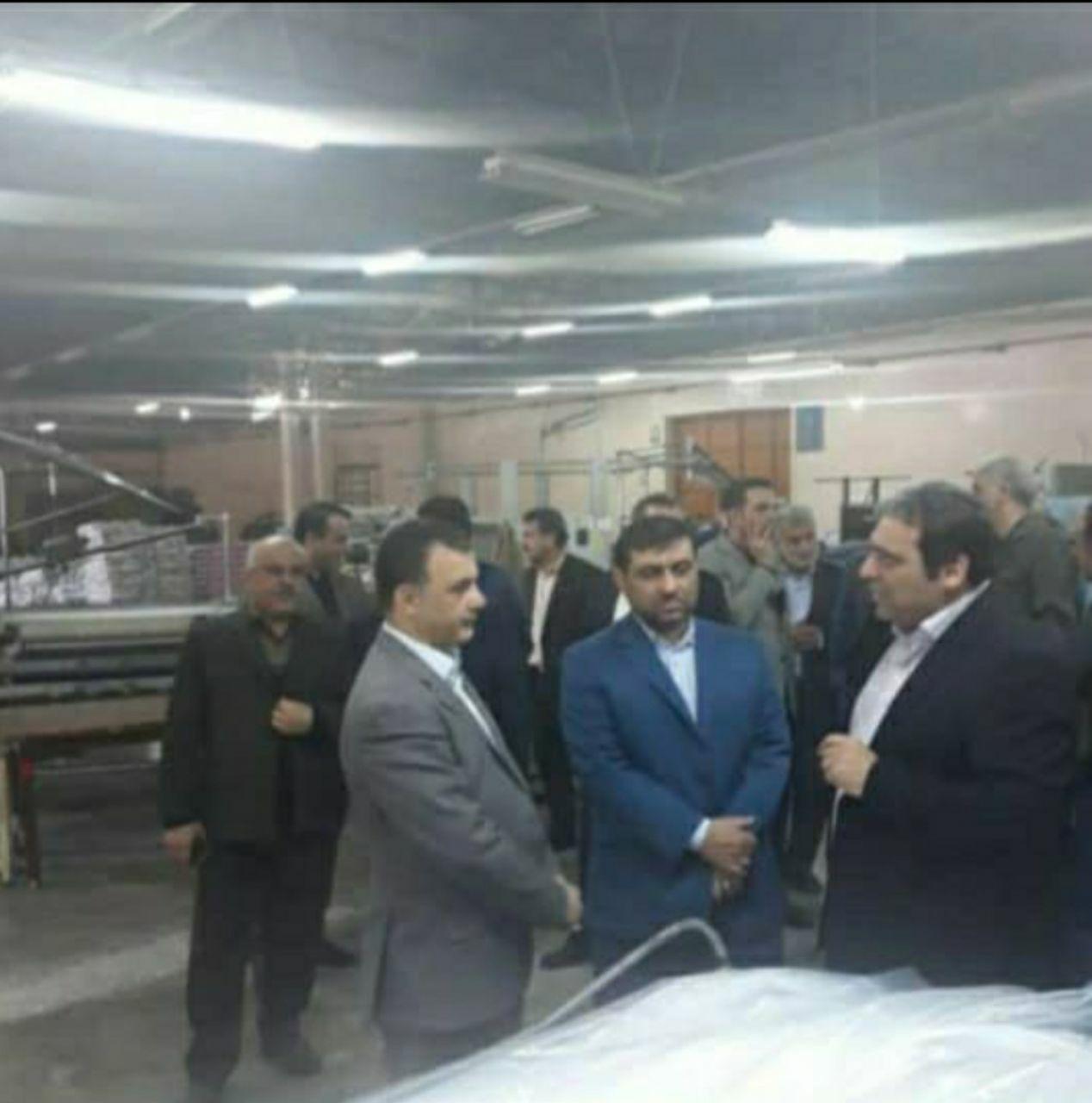 مدیر عامل شرکت ایران پوپلین خواستار تعامل مدیران در راستای تقسیط بدهی های این شرکت شد
