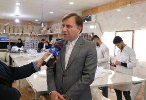 استاندار گیلان در جریان بازدید از خط تولید ماسک خبر داد:   افزایش میزان تولید ماسک و عرضه به بازار در گیلان ، جوابگوی بیماران و کادر درمانی است