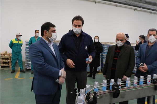 بازدید مدیرکل تعاون، کار و رفاه اجتماعی استان گیلان از کارخانه فومن شیمی