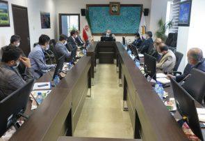 در جلسه شورای معاونین سازمان بررسی شد : راهکارهای عملیاتی حمایت از فعالین اقتصادی متاثر از کرونا در منطقه آزاد انزلی