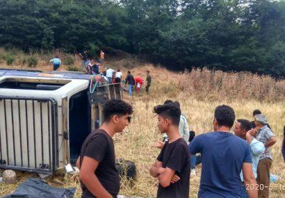 ۱۲ کشته و مجروح در حادثه رانندگی رودبار