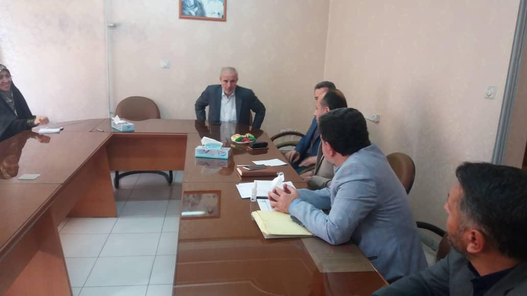 دیدار مهندس کوچکی نژاد با اعضای هیات مدیره و بازرس کانون شوراهای اسلامی کار گیلان