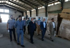 بازدید از تجهیزات و طرح های در دست اجرای شرکت راه چاران منطقه آزاد انزلی