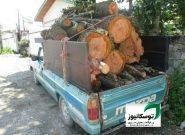 کشف ۶ تن چوب قاچاق در رودسر