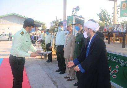 برگزاری صبحگاه مشترک به مناسبت هفته نیروی انتظامی در محل ستاد فرماندهی انتظامی شهرستان لاهیجان