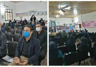 مراسم سومین روز درگذشت مدیر عامل فقید اتحادیه امکان کشور در خانه کارگر گیلان برگزار شد