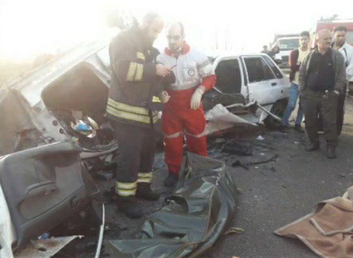 یک کشته و شش زخمی در تصادف جاده سراوان به فومن