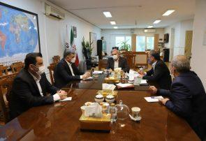 سرپرست و اعضای هیأت مدیره سازمان منطقه آزاد انزلی با مشاور رییس جمهور دیدار کردند
