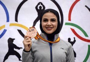 سارا بهمنیار رتبه سوم کاراته بانوان جهان را کسب کرد