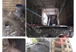 فوت یک کارگر ساختمانی بر اثر سقوط از کانال آسانسور در رشت