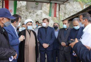 سد مخزنی پلرود یکی از مهمترین پروژههای عمرانی در دست اجرای استان است