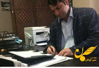 ابوالفضل رضائی فعال اجتماعی و فرهنگی استان گیلان