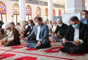مراسم  پرفیض قرائت دعای عرفه در مصلی امام خمینی(ره) رشت