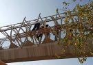 خودکشی جوان رشتی از روی پل عابر پیاده
