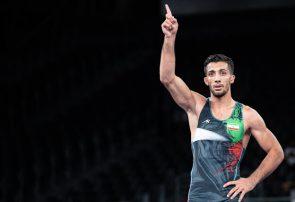 محمدرضا گرایی قهرمان المپیک شد