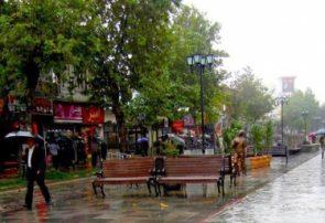 باران شدید بامداد امروز در گیلان بدون خسارت