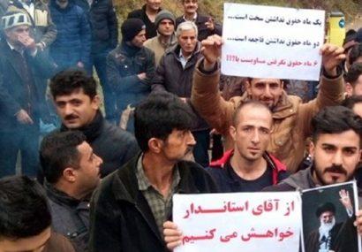 قول مساعد وزیر نیرو برای پرداخت حقوق کارگران سد شفارود