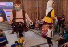 حضور عروسک های غول پیکر نمایش های آئینی گیلان زمین در نمایشگاه اکسپو دبی ۲۰۲۰